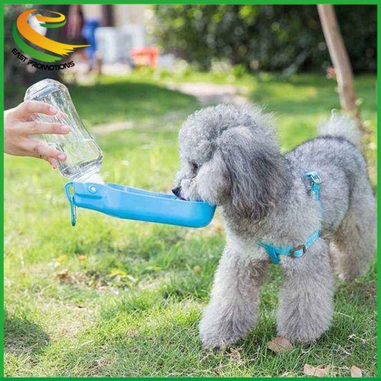 Wholesale Reversible Lightweight Outdoor Travel Portable Dispenser Cat Water Bottle Pet Dog Feeding Drinking Kettle