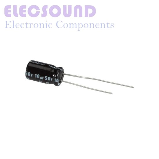 5 x 220uF 50V 105C Radial Electrolytic Capacitor 10x13