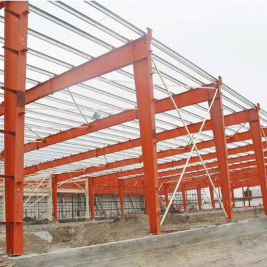 Low Cost Steel Structure Framework Steel Construction with High Quality