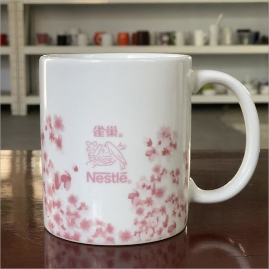 Top Quality White Sublimation Logo Custom Ceramic Mug Ceramic Coffee Mug pictures & photos