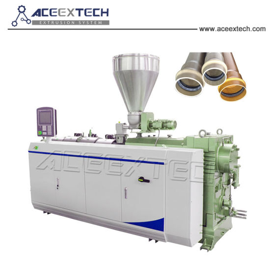 Twin Screw Extruder PVC Pipe Production Line