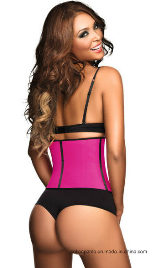 Hot Selling Shapers Women Waist Trainer Waist Cincher Corset pictures & photos