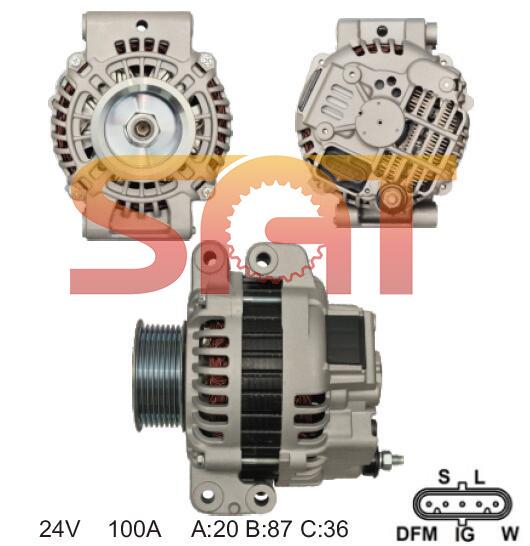 Alternator for Scania A4tr5491 20220 Ca1880IR