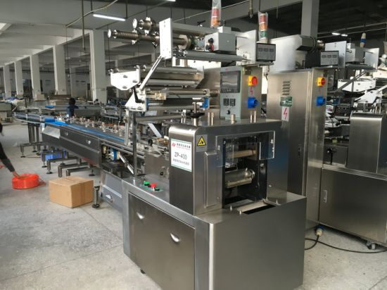 Hot Sealing Pillow Type Chocolate Bar Packaging Machine pictures & photos