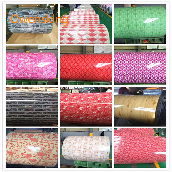 PE PVDF Galvanized Coated Steel Coil, PPGL PPGI Coil for Sandwich Wall Panel, Roofing Sheet