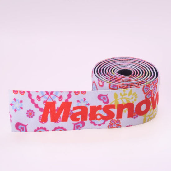 UV Resistant Patterned Kevlar/Nylon/Cotton Elastic Band for Couch