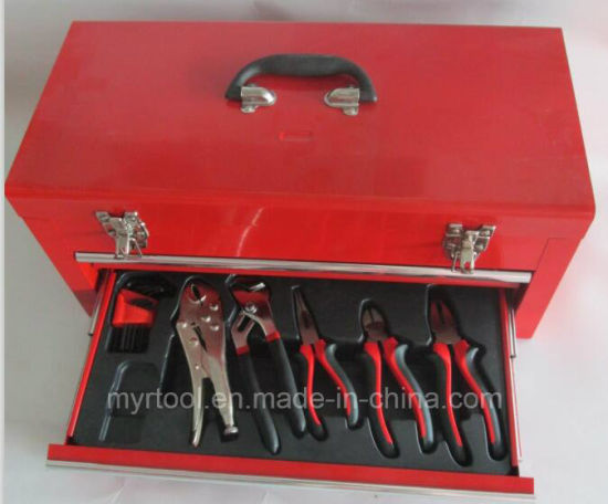 3 Drawers Professional Tool Cabinet (FY117A-1) pictures & photos