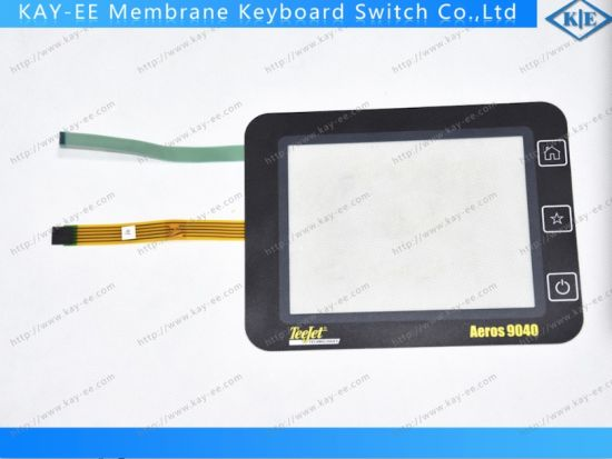 "7"" Resistive 5 Wire Control Panel with Membrane Switch Control for Airspace Products pictures & photos"