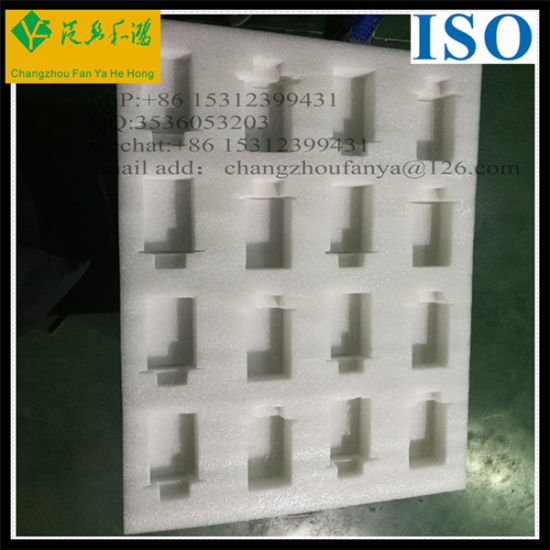 EPE Buffering Inner Packaging Material Expandable Polyethylene Foam Blocks for Inner Packing pictures & photos