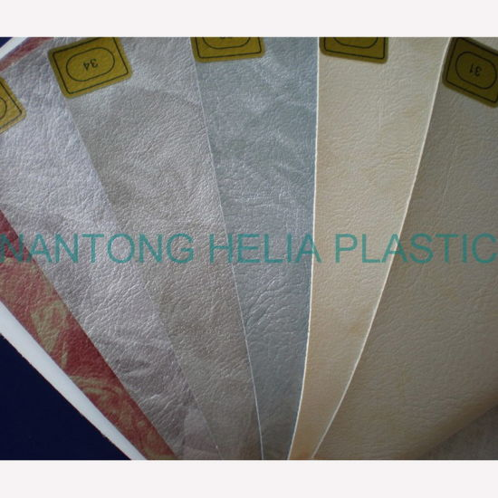 PVC Decorative Furniture Vinyl Upholstery Leather pictures & photos