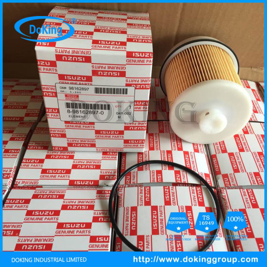 China Filter Supplier Fuel Filter 98162897 for Isuzu pictures & photos
