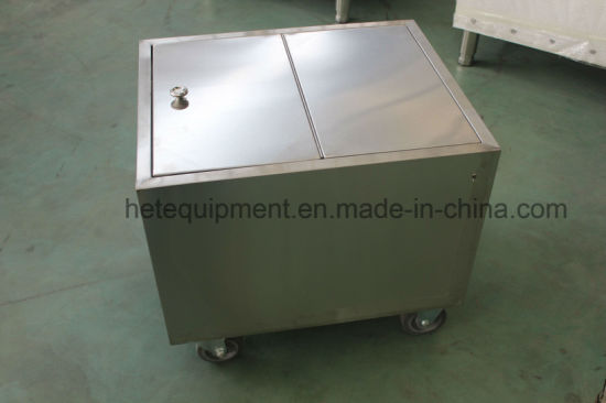 Heavy Duty Restaurant Stainless Steel Flour Trolley Bin pictures & photos