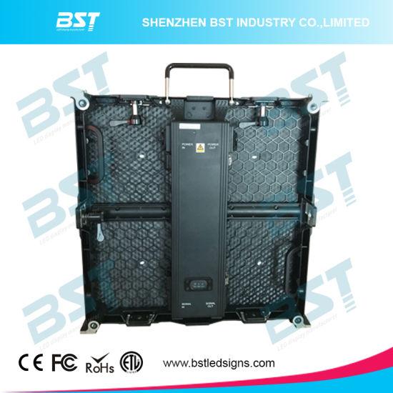 IP65 P6.25 LED Video Display HD Stage Rental LED Display Screen with High Brightness