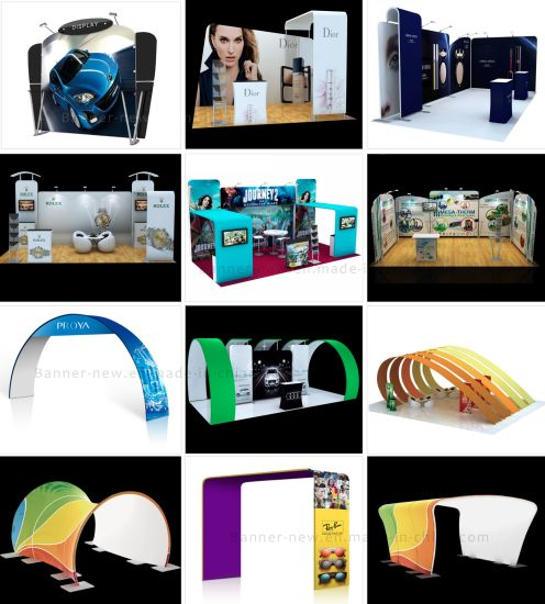 Tension Fabric Portable Exhibition Stand, Display Stand, Banner Stand (KM-BSZ) pictures & photos