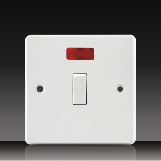 32a 1 gang dp switch with neon (ck32) pictures & photos
