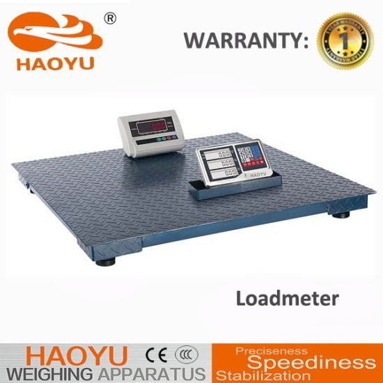 Electronic Digital Floor Track Scale for Animal Husbandry pictures & photos