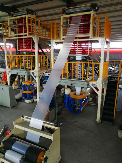 High Spead PE Biodegradable Blown Film Extrusion Machine
