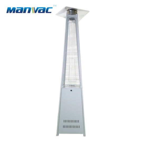Glass Tube Gas Outdoor Pyramid Heater for Swimming Pool