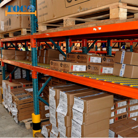 Heavy Duty Customized Sliding Roller Rack for Boxes SGS Certificate