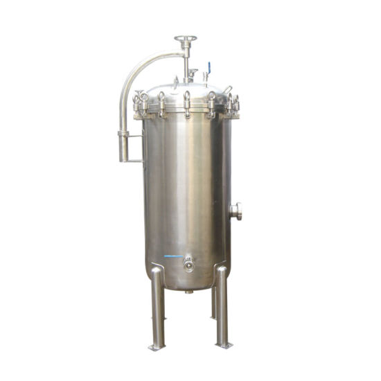 Stainless Steel Pressure High Flow Cartridge Filter Housing pictures & photos