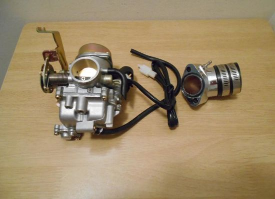 China New Cvk 30mm Carb Gy6 175cc Big Bore Motor Engine Scooter