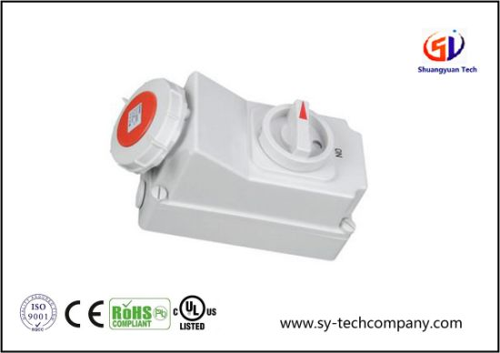 Waterproof Connector for Cables, Industrial Plug IP67 pictures & photos