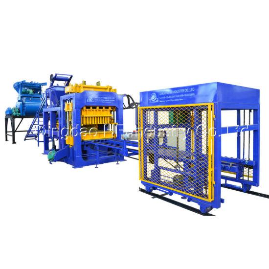 Qt8-15 Hydraulic Pressure Cement Brick Making Machine Curbstone Block Machine