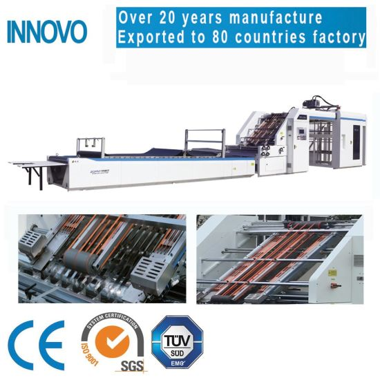 Innovo Zgfm 150m/Min 1450*11450mm Intelligent Automatic Corrugated Paper Flute Laminating Machine