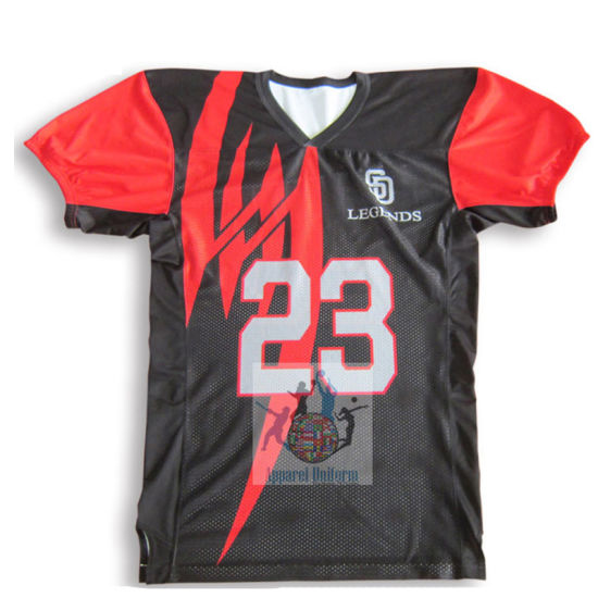 OEM Wholesale Customized American Football Jerseys Custom Made Plain Blank  American Football Jerseys Soccer Jersey