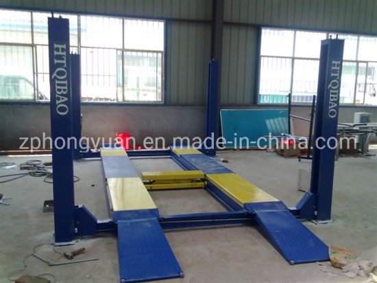 4 Post Car Lift with Secondary Lift Hy-4p3.5t
