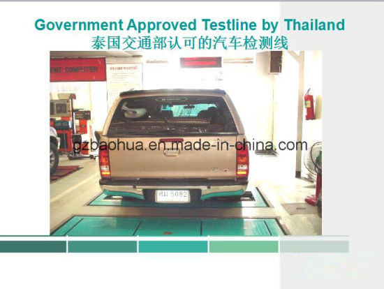 Vehicle Axle Load Tester/ Vehicle Test Line pictures & photos
