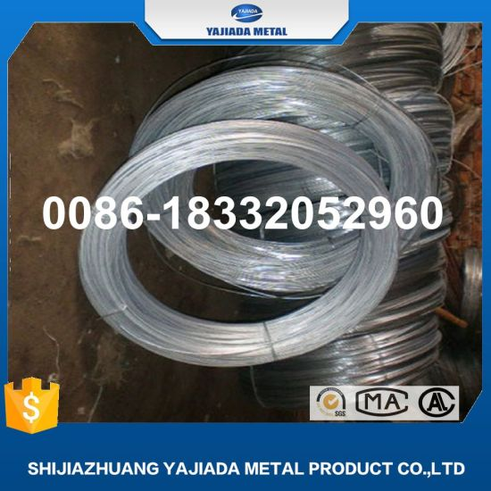 Good Quality Low Price Galvanized Iron Wire Bwg18 Bwg20 Bwg21 Bwg22 pictures & photos