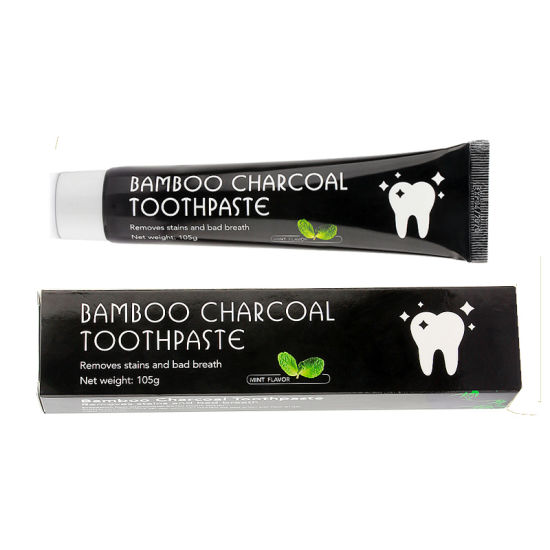 China 105g Fluorid Free Oral Teeth Care Bamboo Charcoal Teeth