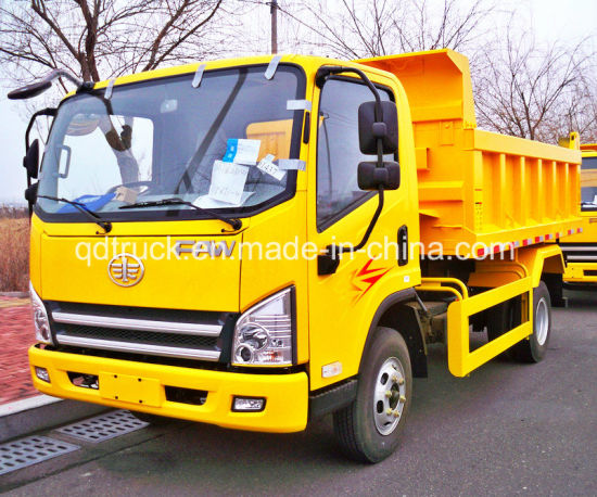 used trucks FAW Light Sand Dump Truck pictures & photos
