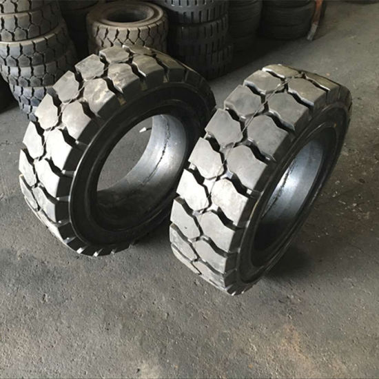 Industrial Forklift Tire/Solid Tire (7.00-9 7.60-16 9.00-16 23X9-10 27X10-12)