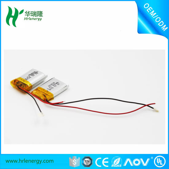 Hot Sale! ! ! 3.7V 300mAh-650mAh Rechargeable Lithium Polymer Battery 502035 Li Polymer Battery for Bluetooth pictures & photos
