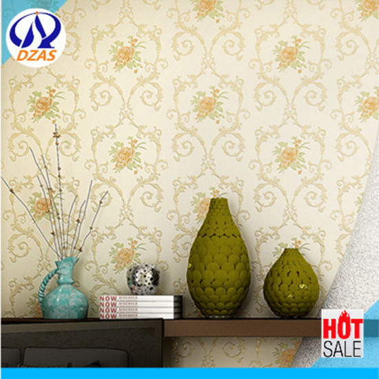 European New Non Woven Exquisite Embossing Wallpaper Stereo Relief Simple Home Furnishings Bedroom Living Room Tv Background Wallpaper
