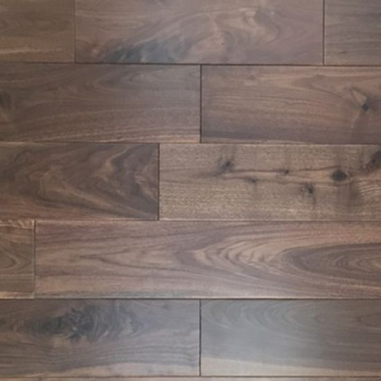 China Selected American Walnut Solid Wooden Flooring China Walnut