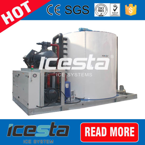 Water Cooling Air Cooling Mode 5ton to 60 Tons Flake Ice Machine for Fishing Industry