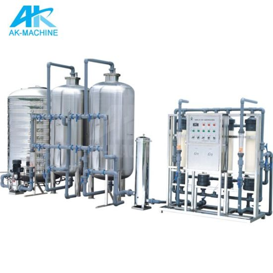 Fully Auto Pure Water Treatment System/Drinking Water Treatment Filter/Reverse Osmosis for Mineral Water