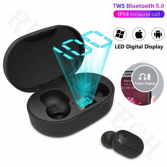 E6s Tws True Wireless Earphone Sport Stereo Mini in-Ear Bluetooth Earbuds