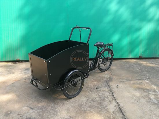 Cheap Tricycle Ice Cream Coffee Adult Cargo Food Cart Bike for Sale pictures & photos