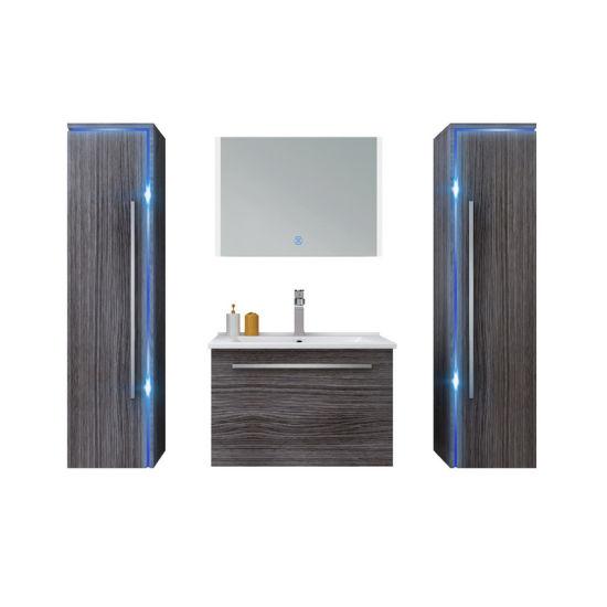 Melamine Board Bathroom Vanity Cabinet Furniture Home Use for Total Packaged HS-E1101