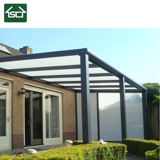 China Modern Design Sunshade Waterproof Aluminium Pergola With Polycarbonate Sheet China Pergola Modern Pergola