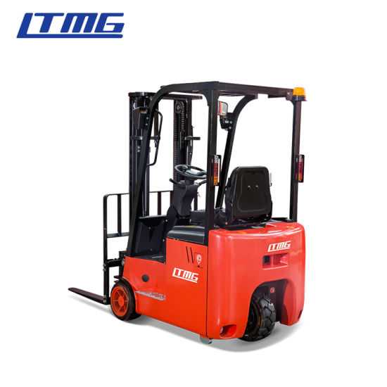 Warehouse Use 3 Wheel Electric Forklift 1.5 Ton with Curtis Controller