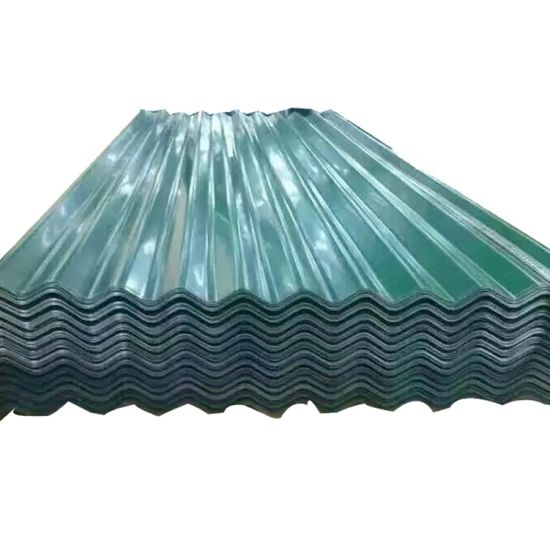 China Manufacturer Galvanized Surface Treatment Hot Dipped Corrugated Steel Roofing Sheets
