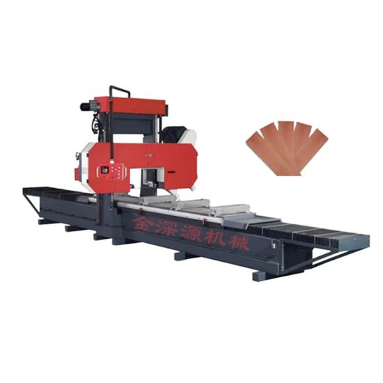 D900*L4000 Large Gantry Horizontal Band Saw Oak Trip and Sheet Cutting Machine Oak Slitting Saw Redwood Sawing Machine Special Machine for Tooth Wood Plate