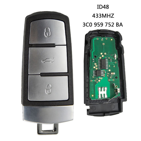 Factory Car Key Remote Control V-W Magotan 3 Button Remote Key Before 2010 Year pictures & photos