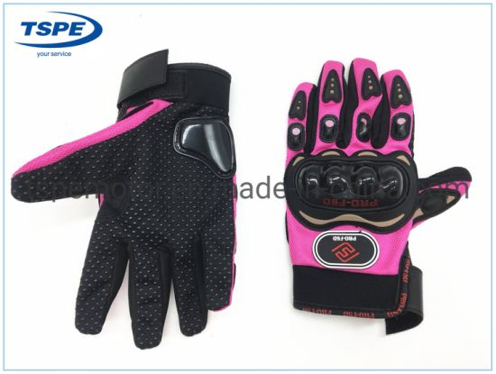 Motorcycle Accessories Full Finger Gloves Hf-18 pictures & photos
