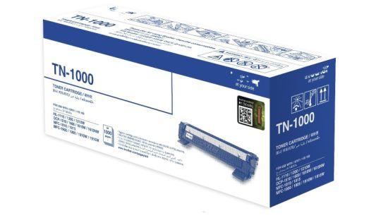 Black Toner Cartridge Tn1000 for Brother Original Printer Consumable